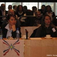 Seyfo Vortrag in Brüssel