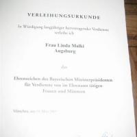 Ehrenamt Auszeichnung an Linda Malki