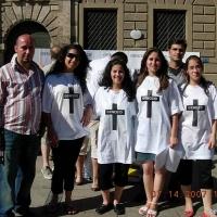 Kundgebungen assyrischer Christen im Irak