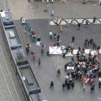 Protest in Augsburg