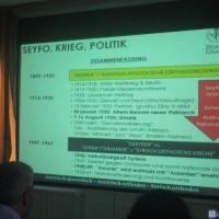 Vortrag von Aryo Makko