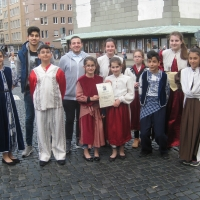 Tanzauftritt Frühlingsfest Augsburg