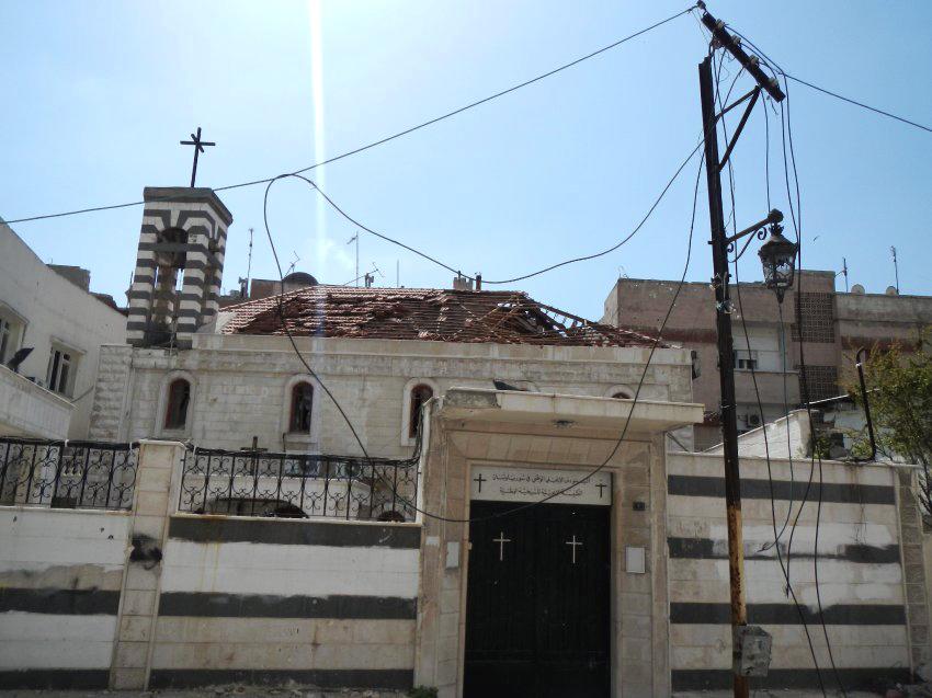 Christliche Kirche in Homs