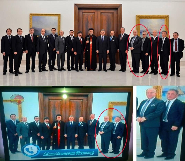 Suryoyo Sat - Aramäische Propaganda - Treffen assyrischer Organisationen mit Abdullah Gül