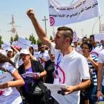 Demonstration Erbil - Nasrany - 02