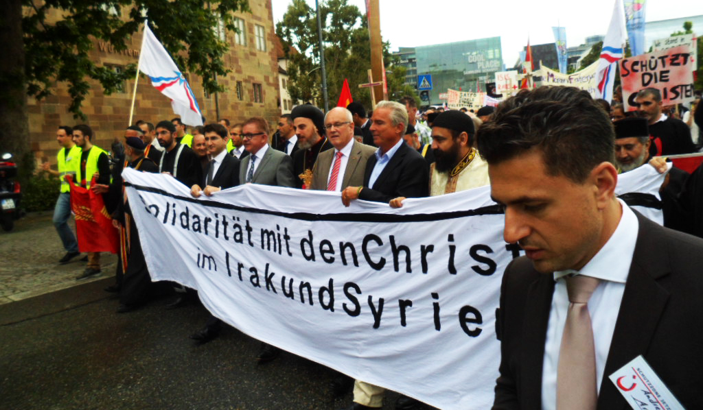 Großdemonstration in Stuttgart - Christen im Irak & Syrien - 01