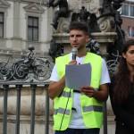 Sargon Demir, Organisator im Namen der SOS Aktionsgruppe