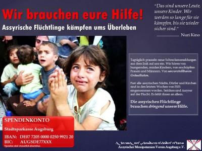 Spendenaufruf - Assyrer im Irak - Deutsch