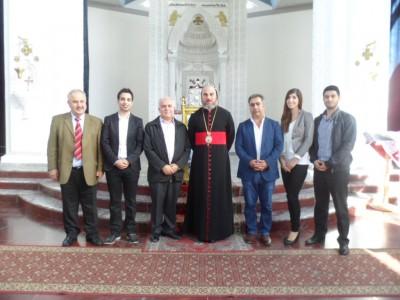 Treffen AMVA mit dem Syrisch-Orthodoxen Erzbischof in Deutschland, Seine Eminenz Mor Philoxenos Mattias Nayis