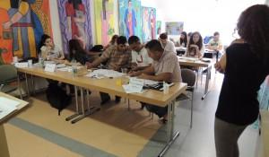 Gruppenarbeit am ersten Seminartag