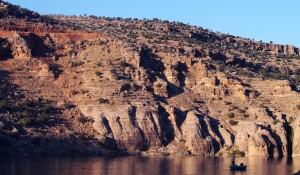 Fluss Tigris - Fischerboot - Tur Abdin