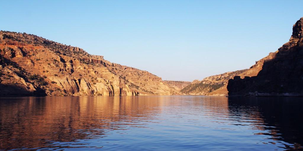 Fluss Tigris - Tur Abdin