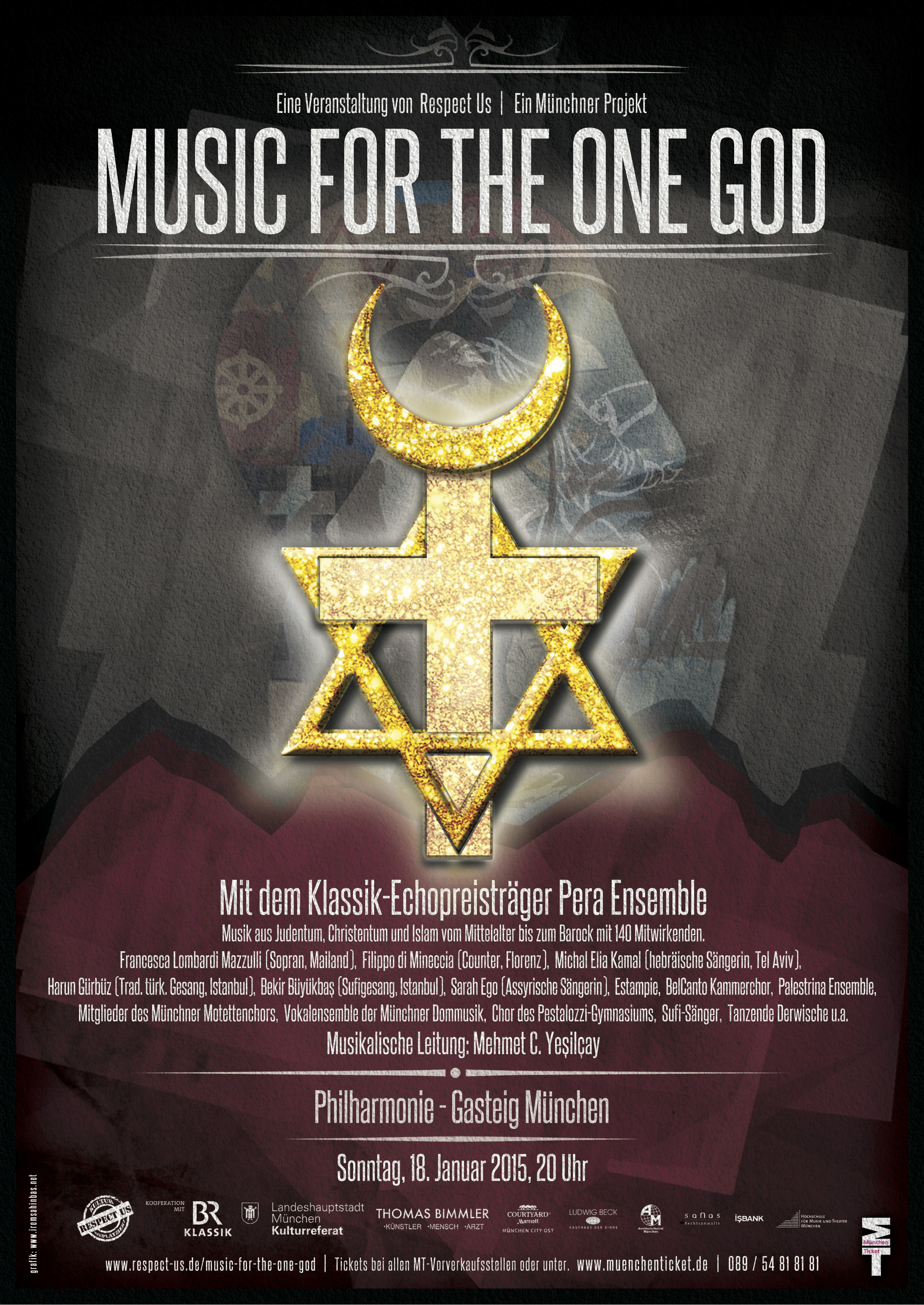 Flyer - Music for the One God