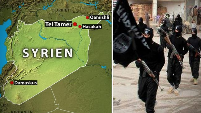 ISIS - Khabour - Syrien - Assyrer