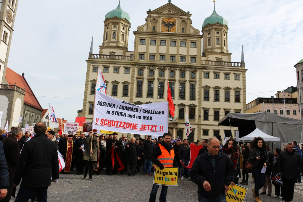 Großdemonstration in Augsburg - Assyrer, Aramäer, Chaldäer