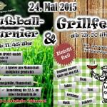 Flyer - Fußballturnier und Grillfest - Augsburg - Assyrische Jugendgruppe Augsburg
