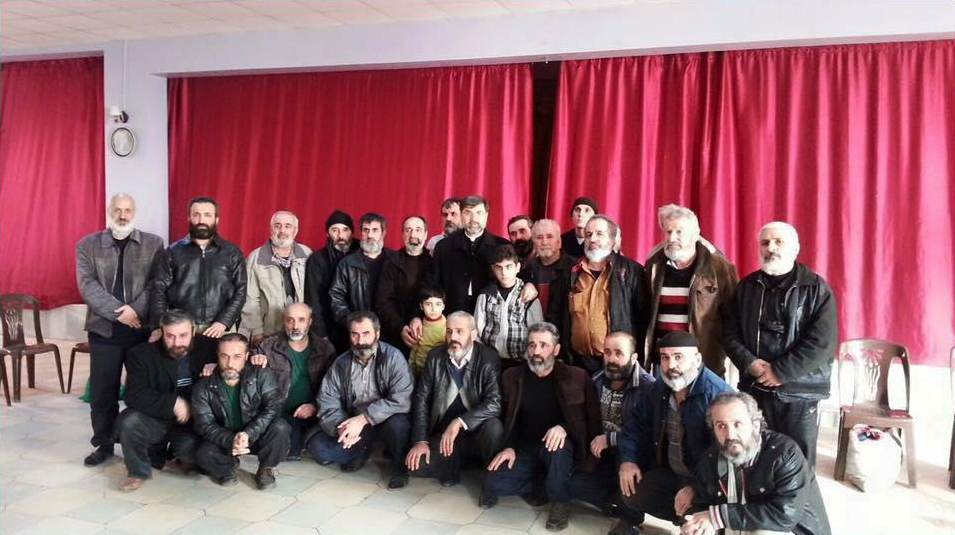 Assyrische IS-Geiseln - Khabour, Syrien - Gruppe