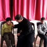 Assyrische IS-Geiseln - Khabour, Syrien - zwei Jungen