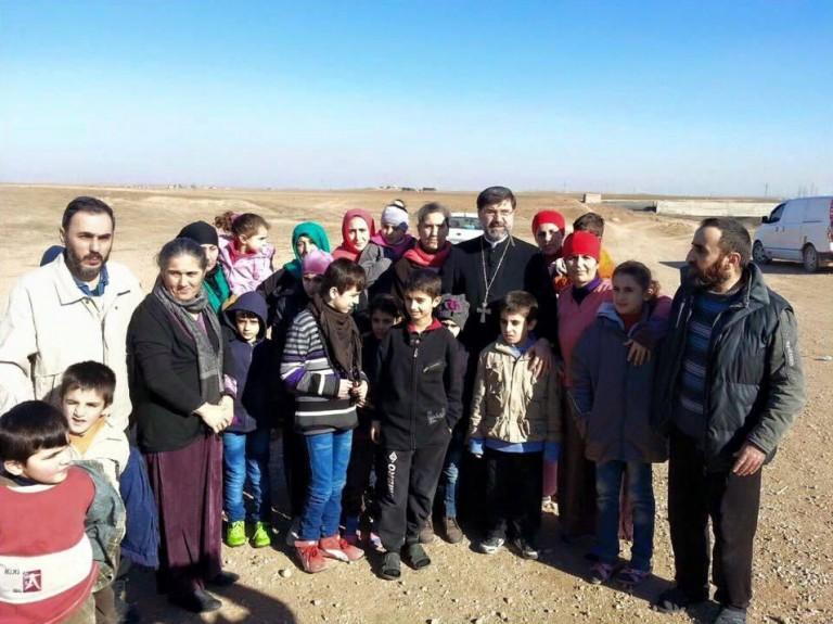 IS-Geiseln - Weihnachten - Assyrer - Syrien - 01