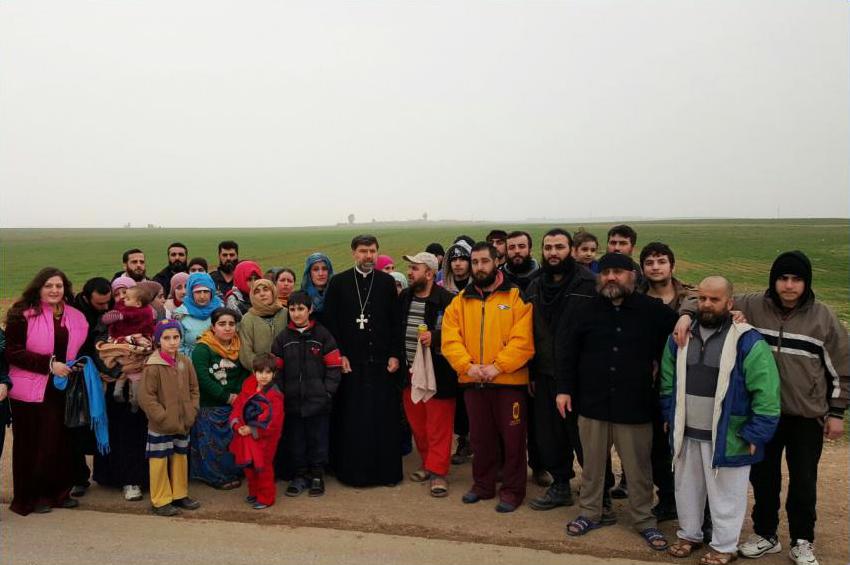 Assyrer - Geiseln - Freilassung