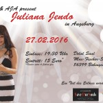 Flyer - Juliana Jendo Hago - Augsburg