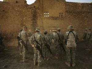 Kloster St. Elias - Irak - U.S. Soldaten