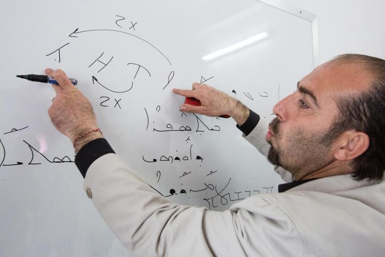 Jacob Lahmo - Assyrisches Sprachinstitut Orhoy - Kamischli (Syrien)