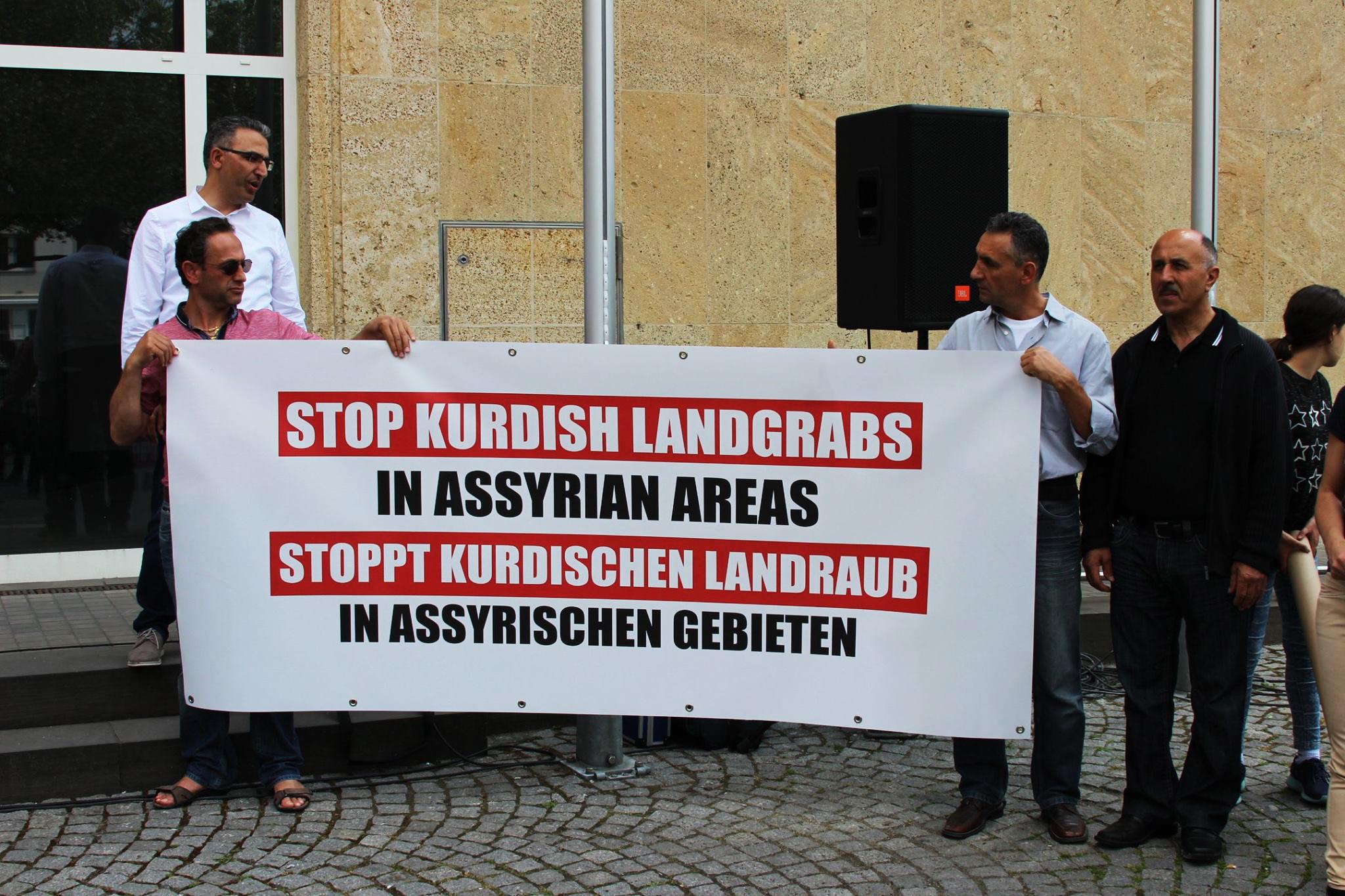 Protest kurdischer Landraub - 01