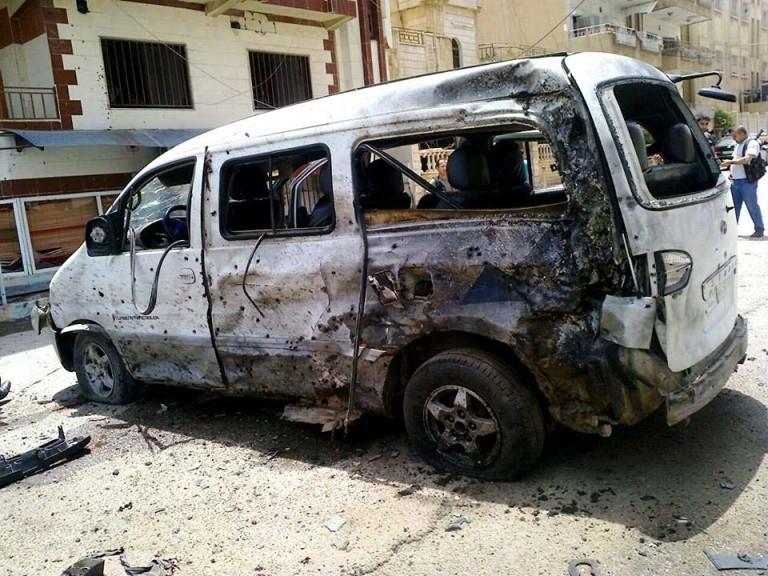 Selbstmordanschlag - Qamishli - Assyrer