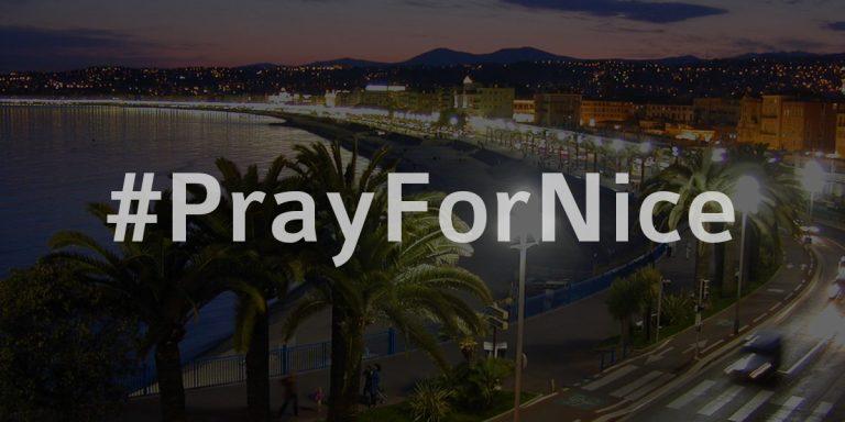 PrayForNice - Nizza (Frankreich)