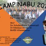 Flyer - Camp Nabu 2016