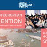 Flyer - 1st Assyrian European Convention