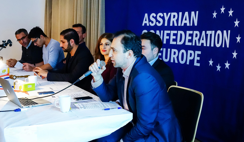 Assyrische Konföderation in Europa - Jahresversammlung - Göteborg - 01